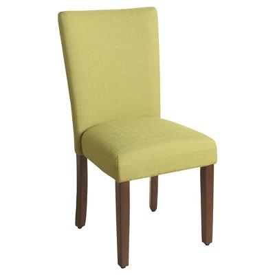 yellow parsons chair purple velvet and ottoman with espresso leg homepop ebay