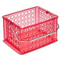 Utility Storage Bin with Handle Clear Large - InterDesign ...