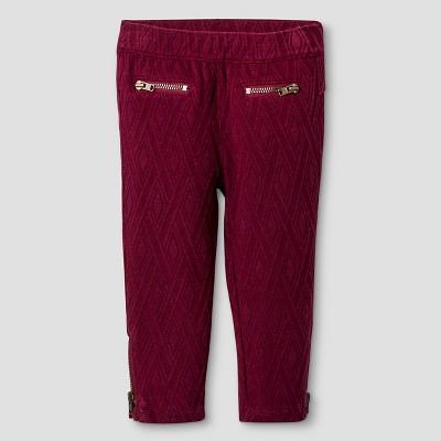 Baby Girls Legging Pants Burgundy Red 18 Genuine Kids