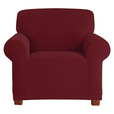 sure fit chair covers target bouncing for babies stretch pixel corduroy slipcover ebay