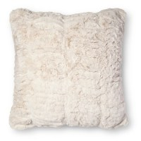 decorative faux fur pillows : Target