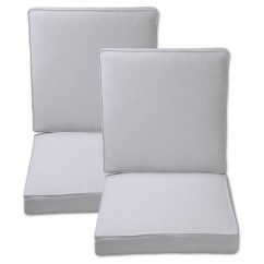 Outdoor Chair Cushions At Target Hanging Chairs For Bedrooms Fabron 2 Piece Dining Cushion Set
