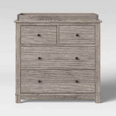 Monterey 4 Drawer DresserChanger Combo  Rustic White  Target