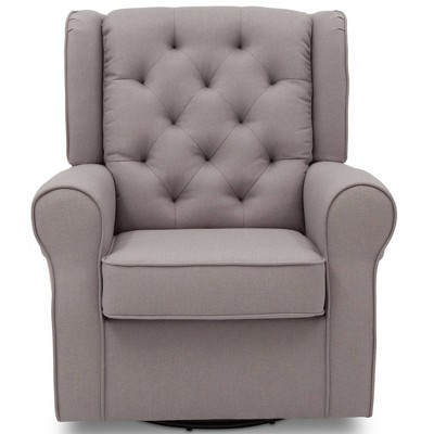 best chairs geneva glider reviews office chair cheap ottomans target delta children emma nursery swivel rocker french gray