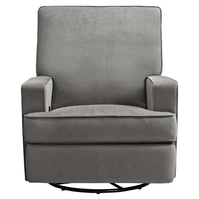 Baby Relax Addison Swivel Gliding Recliner  Gray  Target
