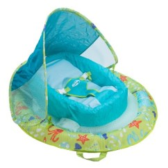 Pool Chair Floats Target Santa Covers Amazon Tubes Swimways Infant Baby Spring Float With Canopy Green