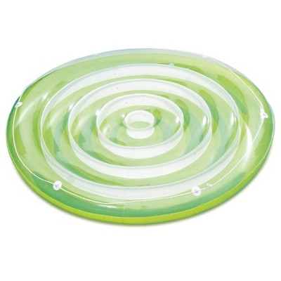 pool chair floats target metal side chairs tubes summer waves 65 x 7 inflatable splash island swirl ring tube float