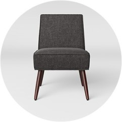 Accent Chairs With Arms Lafuma Camping Living Room Target Armless