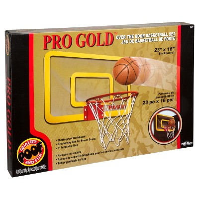 "Poof Slinky Pro Gold™ Large Basketball Hoop - 23"" x 16"""