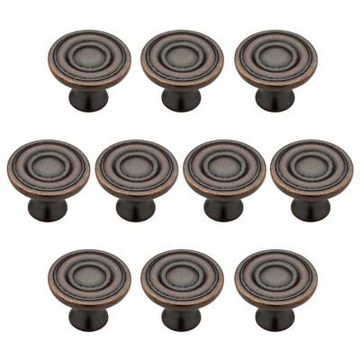 Ring Round Knob Statuary bronze 10pk - Threshold™