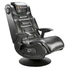 X Rocker Pro Pedestal Gaming Chair Narnia The Silver Series Wireless Gunstock Arms Tilt Swivel 2 1 Vibration Black Target