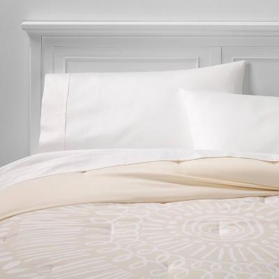 Microfiber Printed Comforter - Room Essentials™