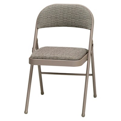 cloth padded folding chairs matrix chair accessories 4 piece deluxe fabric chicory lace frame and courtyard sudden comfort target