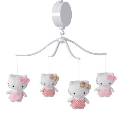 Bedtime Originals Hello Kitty Luv Musical Mobile