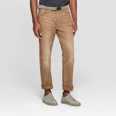 Men's Straight Fit Jeans - Goodfellow & Co™ Khaki