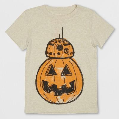 Toddler Boys' Star Wars BB8 Short Sleeve T-Shirt - Beige 3T