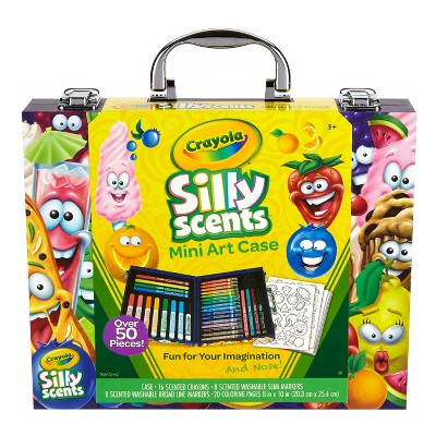 Crayola Silly Scents™ Mini Art Case 52pc