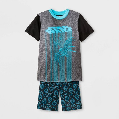 Boys' Star Wars 2pc Pajama Set - Black