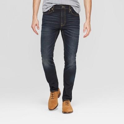 Men's Skinny Fit Jeans - Goodfellow & Co™ Dark Gray