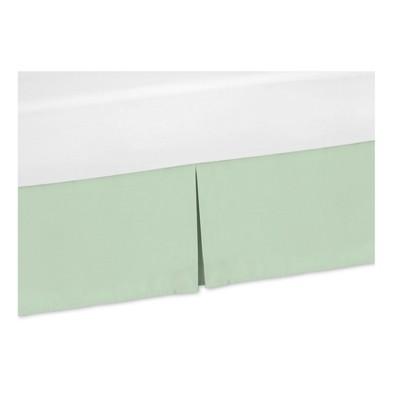 Mint Mod Arrow Bed Skirt (Toddler) - Sweet Jojo Designs