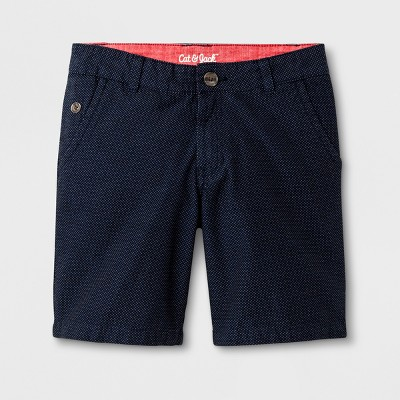 Boys' Chino Shorts - Cat & Jack™ Navy