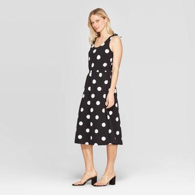 Women's Sleeveless Scoop Neck Maxi Dress - Who What Wear™