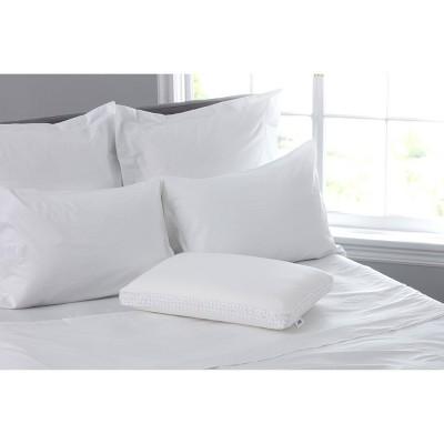 sealy memory foam bed pillow standard