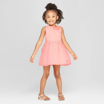 Toddler Girls' A Line Dress - Cat & Jack™ Pink