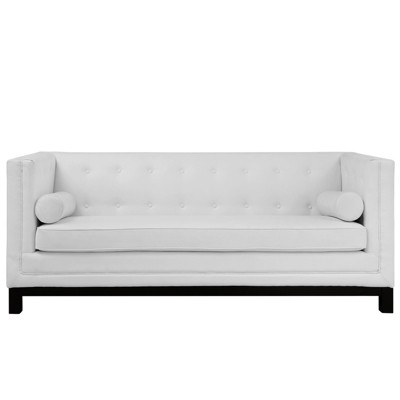 Imperial Bonded Leather Sofa - Modway