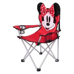 Kids Folding Camp Chair Buy Covers For Weddings Wholesale Evergreen Minnie Mouse Red Target
