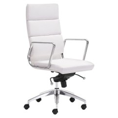 Target White Desk Chair Toddler Table And Chairs Modern Sleek Adjustable High Back Office Zm Home