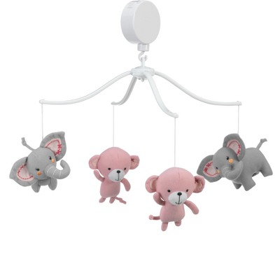 Bedtime Originals Twinkle Toes Musical Mobile - Pink