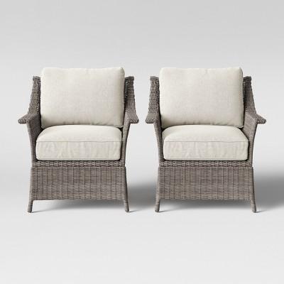 patio club chair salon covers foxborough 2pk threshold target