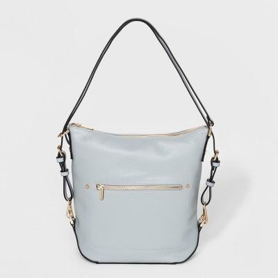 Convertible Backpack Hobo Handbag - A New Day™