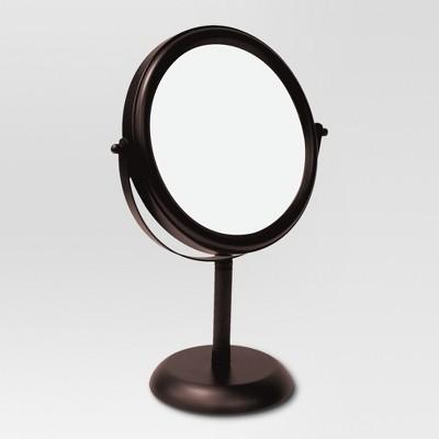 Bathroom Mirror Oil Rubbed Bronze  Threshold  Target