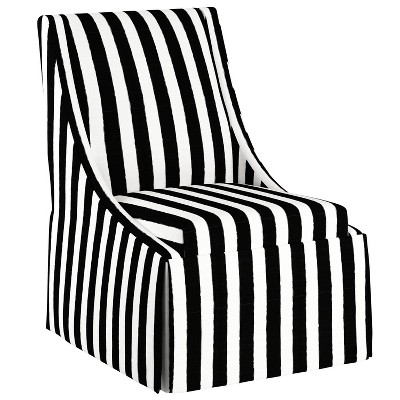 radford accent tub chair dining room chairs with caning alice skirted swoop cloth co target