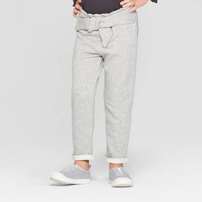Toddler Girls' Tie Front Jogger Pants - art class™