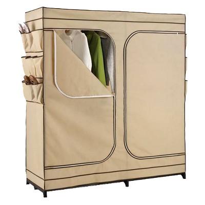 """60"""" Double Door Portable Storage Closet"""