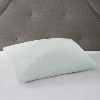 queen rayon from bamboo memory foam pillow