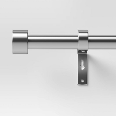 66 120 dauntless curtain rod brushed nickel project 62