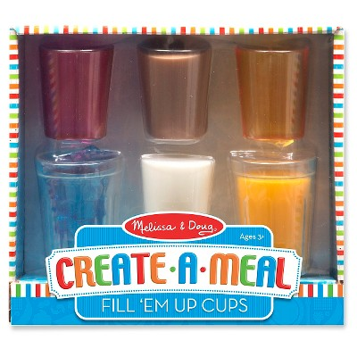 Melissa & Doug® Create-A-Meal Fill 'Em Up Cups