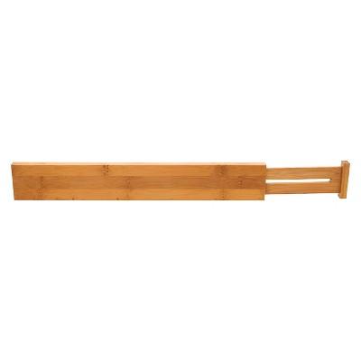 Lipper International Bamboo Kitchen Drawer Dividers - Set of 2