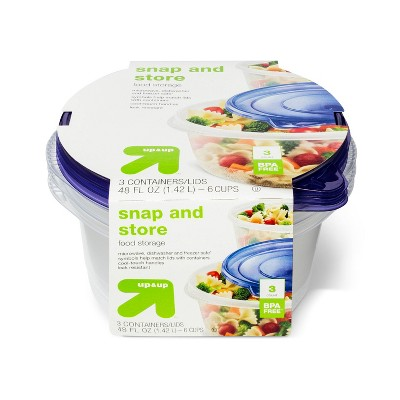 Big Bowl Food Storage Containers - 3ct - Up&Up™