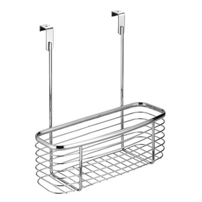 "InterDesign Axis Over-the-Cabinet Storage Basket 11"" Chrome"