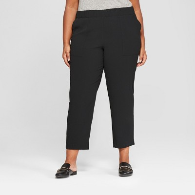 Women's Plus Size Soft Utility Pants - Ava & Viv™