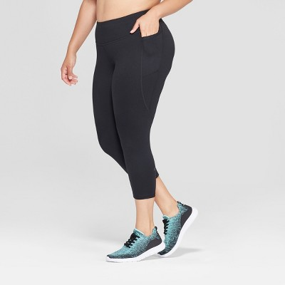"Women's Plus Size Studio Mid-Rise Capri Leggings 20"" - C9 Champion®"