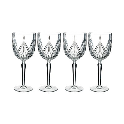 Marquis By Waterford Lacey 15oz 4pk Crystal Wine Glasses