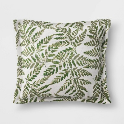 woven outdoor deep seat back cushion duraseason fabric ferns threshold