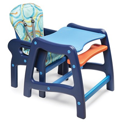 badger basket high chair office posture corrector with play table conversion target