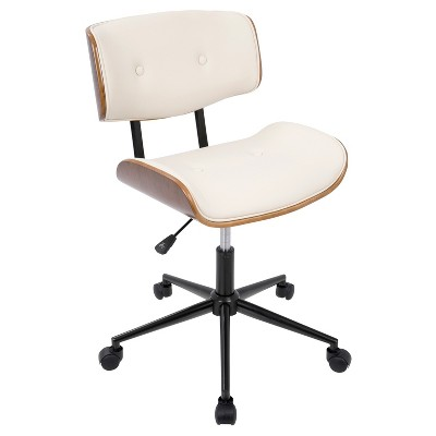 cool modern office chairs tables and meaning lombardi mid century chair with swivel lumisource